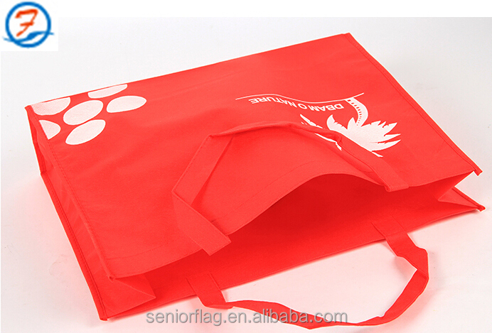 made china wholesale shopping/gift handbags/non woven bags