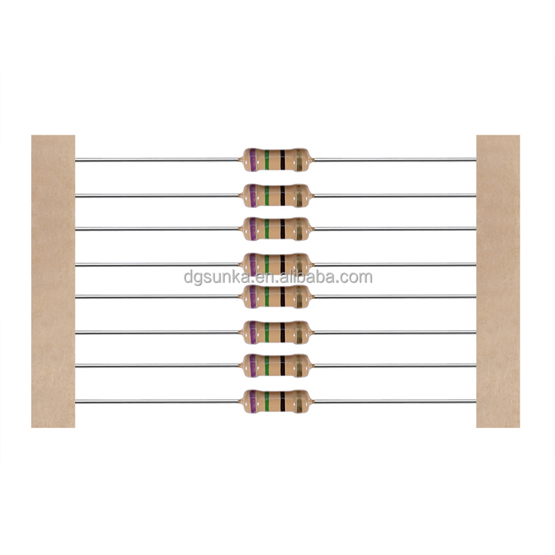 1/6 to 5W Carbon-film Resistors in Wide <strong>Resistance</strong> Range