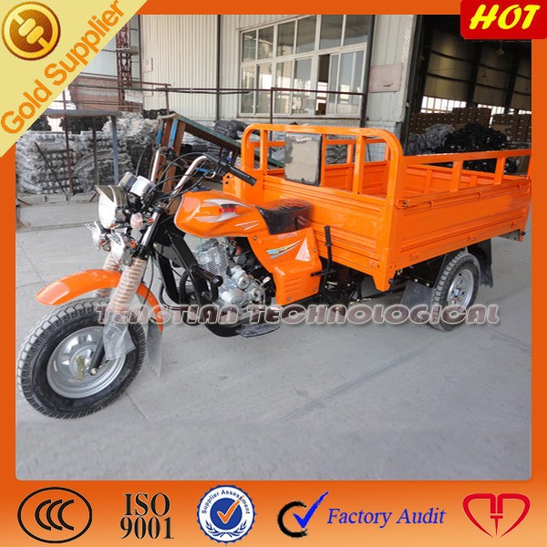 Heavy duty gas motor car passenger tricycle for sale
