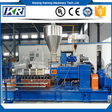 Pp/Pe/Ps Granules Pellet Production Feed Screw Small Extruder Machine Plastic
