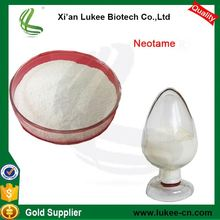 Neotame for animal feed, artificial sweetener for food