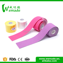 Light weight 5cm muscle kinesiology tape volleyball tape