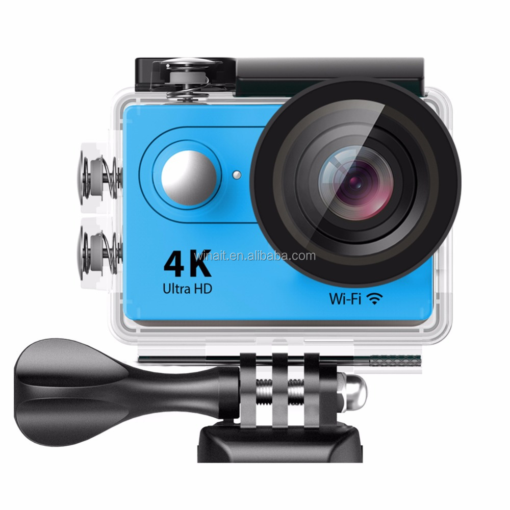 2016 Factory Price High Quality WIFI 1080P Full HD Waterproof Camcorders 170 Degree SJ 6000 4k video camera DV WiFi Version