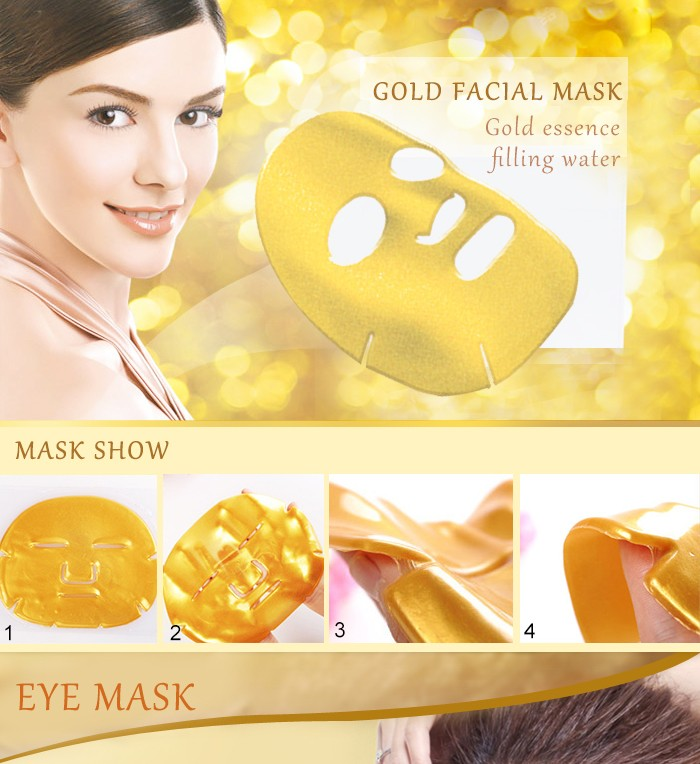HOT beauty products vatimin C anti-wrinkle face masks OEM cosmetics 24k gold facial mask