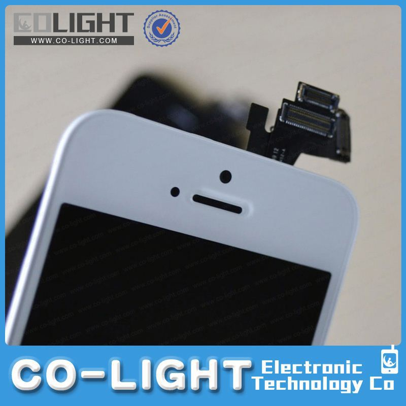 Big discount for iphone 5 solor lcd sreen/digitizer