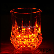 New Barware Water Induction Led Flashing Plastic Drinking Cups