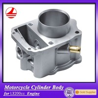 high quality LX200CC motorbike cylinder block chinese motorcycle engine