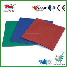 Eco-friendly rubber materials for basketball, badminton court rubber flooring