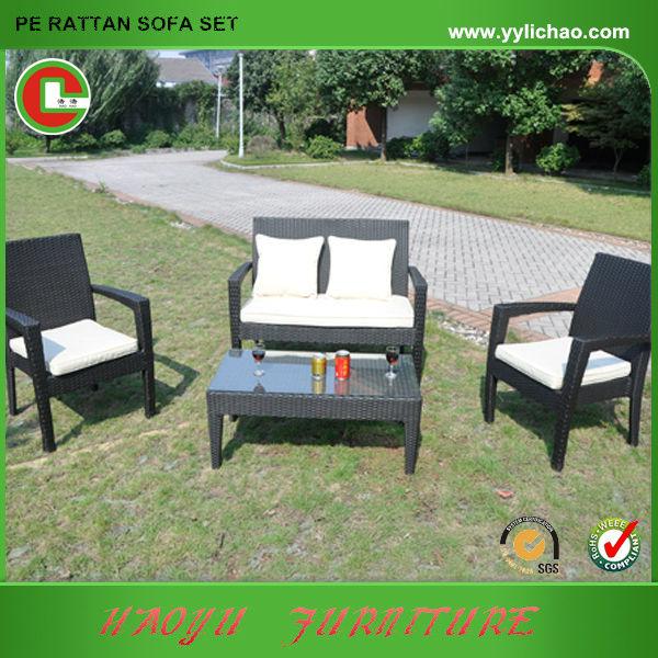 Cómodo Mesa de ratán Rattan mesa ampliada patio muebles de jardin ...