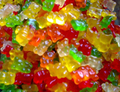 Low-sugar soft gummy bear bulk gummy candy
