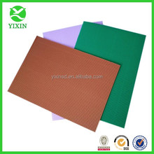 Super Grade Pearl Colorful Corrugated Paper Sheets Virgin Pulp Style diy craft paper