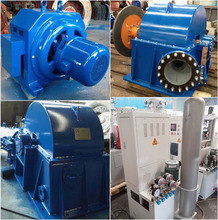 50kW-100kW Mini Water Turbine / Micro Hydro Turbines and Hydro Generator for Sale