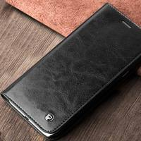 QIALINO Trendy Top Head Leather Phone Case For Samsung Core Prime A8
