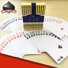 Professional Company Printer Promotional Logo Poker Size Laminated Paper Custom Playing Card