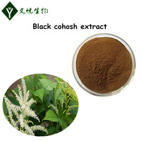 High quality Black cohosh powder Triterpenoid saponins