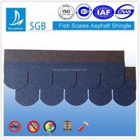 SGB fish scale asphalt shingle for roof materials