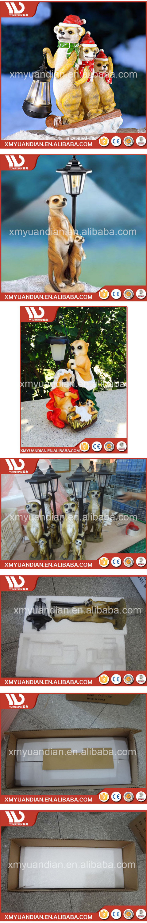 Online Shop China Polyresin Decoration Fairy Solar Led Light Garden