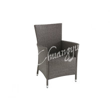Good quality resin wicker chair of garden metal furniture chair