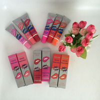 waterproof WOW Romantic Bear peel off lipgloss/lipstick with individual package