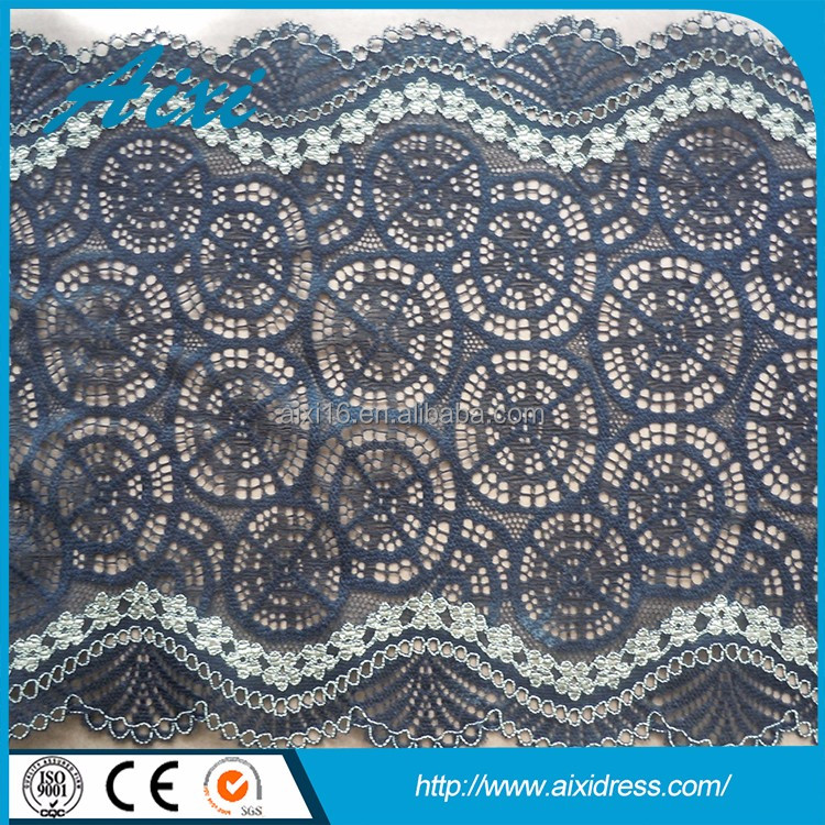 Wholesale customized baby lace fabric embroidery lace trim