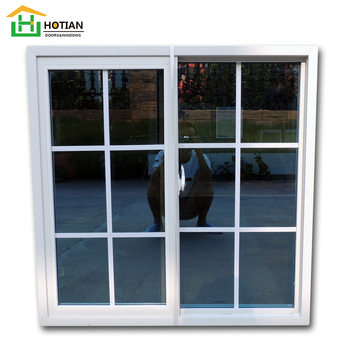 Modern design Standard Size Upvc Sliding Windows Grill Design Upvc Windows Casement China Factory Price high quality soundproof