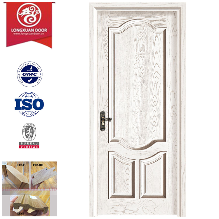 Quality Hardwood Exterior Door, Elegant Man-made Carved and Panel Design