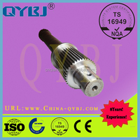Professional front axle shaft for Auman heat treatment tractor auto spare parts cv joint machine through shaft