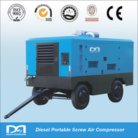 Diesel Portable Rotary Screw Compressor