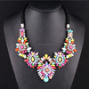 2015 New Fashion Hollow flower Necklace Jewelry for women SN-036
