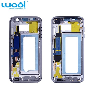 Housing Battery Middle Bezel Frame Mid Chassis For Samsung Galaxy S7 S7 Edge accept Paypal