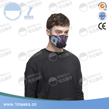 Good quality windproof neoprene outdoor cycling sports training mask altitude