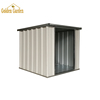 Pet room metal dog house with colorful