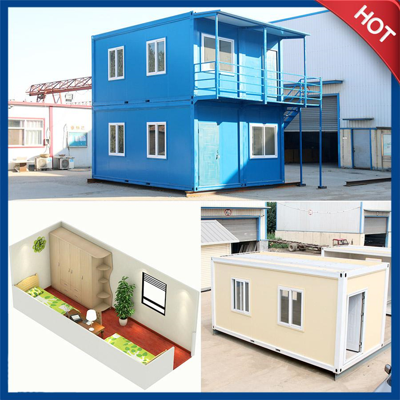 Fast install container house container home with kinds of layouts for options