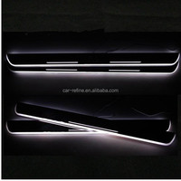 LED Door Sill Step Plate Panels for BMW F30 F35 F10 F18 X3 X5 E70 LED LED Scuff Plate Door Sill M sport logo