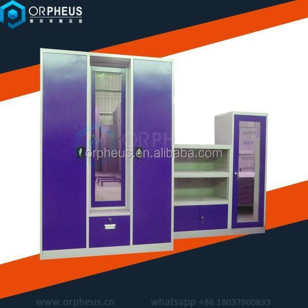 Modern furniture steel almirah designs with price steel wardrobe locker buy godrej almirah - Modern almirah designs ...