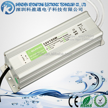 High Quality 150W 12V DC Waterproof Power Supplies Outdoor IP67 Switch Mode Power Supply