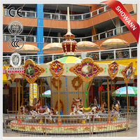 funny amusement park rides carousel horse merry go round for sale