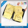 Encai New Arrival Travel Clothing Organizer Bag Set 5PCS Luggage Storage Pouch Set