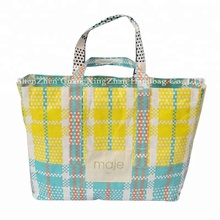 China manufacture high quality free sample recycled printed pp woven bag