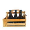 Wooden 6 Pack Beer Carrier Holder