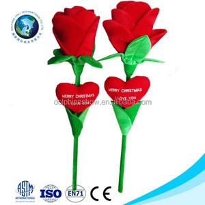 rose soft plush baby adult toy