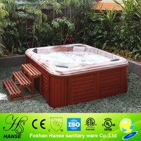 HS-SPA298Y large size garden square freestanding hot tubs outdoor spa