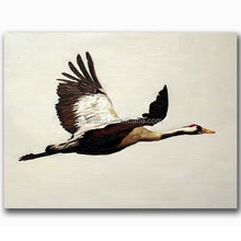 High quality oil painting on canvas bird