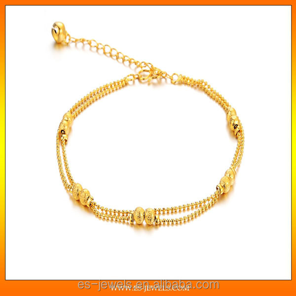 gold anklets and gold chains