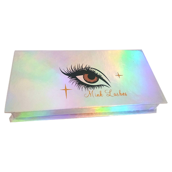 Wholesale private label false lashes boxes package with cheapest price
