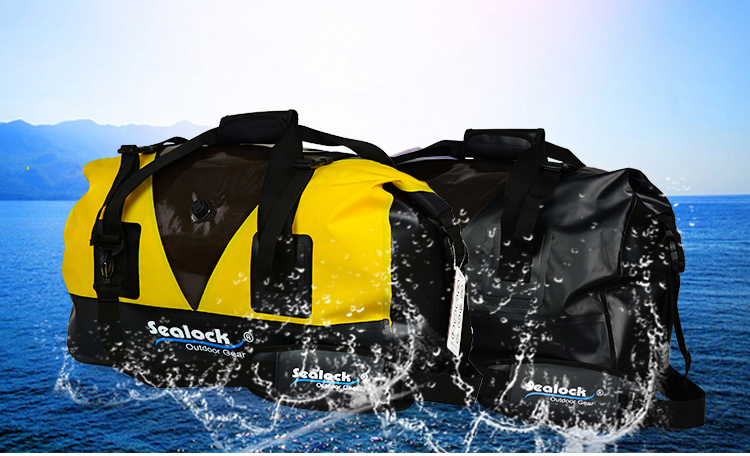 PVC High quality accept customer logo printing color Waterproof sport Duffel bag & Travel Bag