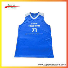 reversible custom girl and boy exercise jersey and shorts and uniforms basketball with sublimation