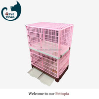 Newly promotional strong metal dog commercial crate cage