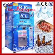 Automatically package ice vendor and Ice vending machine