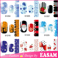 Easam Hallowmas nail polish sticker,Halloween 3D nail sticker